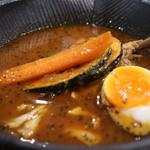 スープカレーlavi - チキンto野菜カレー ~オリジナルスープ仕立て~ 辛さ5番