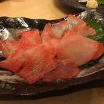 鮮魚料理 角吉 - 鯨ベーコン