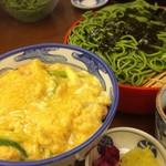 90898888 - 親子丼(1010円)とせいろ蕎麦(790円)