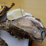 土田水産 - 料理写真:象潟産 天然岩牡蠣