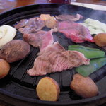 バーベキューガーデン - 料理写真:国産黒毛和牛バーベキュー