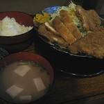 幸福堂 - ロースとんかつ定食 2008/10