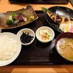 まるとく食堂 - ゴマ鯖定食