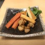 鮮魚料理 角吉 - 燻製盛合せ