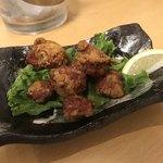 鮮魚料理 角吉 - 砂肝唐揚げ