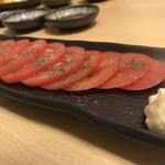 鮮魚料理 角吉 - 冷しトマト