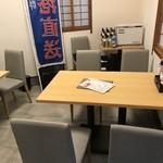 鮮魚料理 角吉 - テーブル席