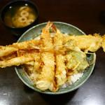 90905750 - 海老穴子天丼 ¥1,500