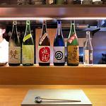 90907891 - おススメのお酒…丁寧に何種類かご説明頂き「野口直彦 研究所」をチョイス。