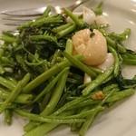 昌園 - 空心菜炒め(海鮮)
