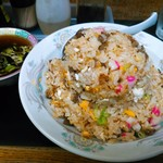 中華 若竹 - 料理写真:チャーハン  大盛800円(税込)  スープ付。