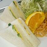アサ - サンドイッチモーニング