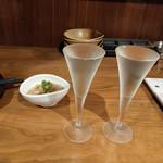 ~47都道府県の日本酒勢揃い~ 夢酒 - 60mlグラス~☆