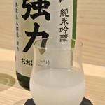 米子さっかどう - さっかどう・千代むすび純米吟醸 袋取り生おおにごり¥780(2018.07)