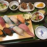 魚良 - 寿司定食 松