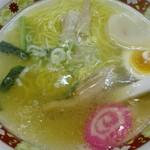 90912761 - 函館塩ラーメン。