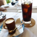 90915001 - デミカップとセットのアイスコーヒー