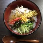 """ブルースカイ - 奄美大島の郷土料理 """"鶏飯(けいはん)"""""""