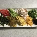 ブルースカイ - 鶏飯(けいはん)の具材