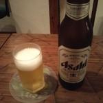 酒・肴 おひとり処 - 小瓶ビール