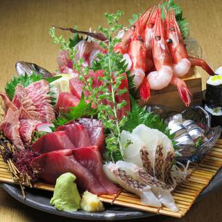 神田で3番目ぐらいに旨いと自負している豊洲直仕入れの旨い刺身