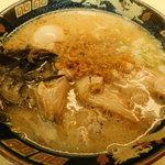 90918024 - 半熟煮たまご入り豚とろラーメン(王道)