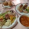 ホテル ルブラ王山 - 料理写真:'18/08/13 オードブル・スープ・サラダ・パン