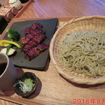 蕎麦 いち - うなぎ蕎麦 \1500