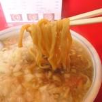 90919333 - 団子のようなモッチリ麺