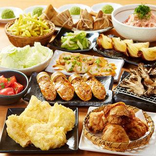 料理13品の宴2時間飲み放題付き4000円♪