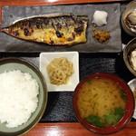 90921557 - 鯖の味噌漬けとご飯