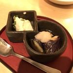 kiwa - つきだし(税込480円)