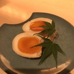 kiwa - 半熟卵の味噌漬け(税抜き290円)