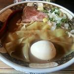 Sugoiniboshiramennagi - 【すごい煮干ラーメン 味玉】¥1000