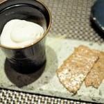 """粲 - """"デザート&お茶:ウーロン濃茶アイス・矢部和紅茶"""""""
