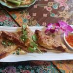 サムロータイレストラン - 海老トーストの代わり
