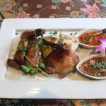サムロータイレストラン - 骨付きチキンのグリル