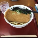 山田うどん - 料理写真:「きつねうどん」380円