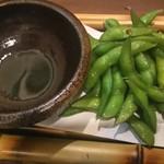 酒×めし 真剣 蒲生四丁目 - 枝豆