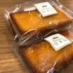 パティスリーQBG - ◆フィナンシェ(3個入り) 690円