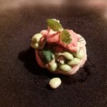 フィオッキ - 生雲丹と夏野菜の冷製フェデリーニ