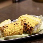 さっぽろっこ - 北海道産とうもろこし 香ばし炭火醤油焼き