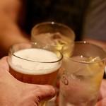 アガリコサッポロ - 3軒目の乾杯♪