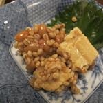 石臼挽き手打ち蕎麦 高はし - 豆腐味噌漬け