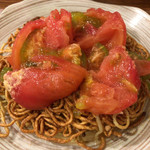 中華料理 帆 - 中華料理 帆(エビとトマトの両面かた焼きソバ)