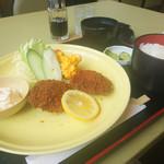 喫茶野 - 料理写真:魚フライ定食