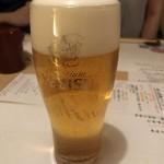 つみき - 乾杯の生ビール
