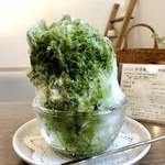 アンジュ - かき氷・抹茶+練乳