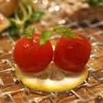 私厨房 勇 - ミニトマトの甘酢漬け