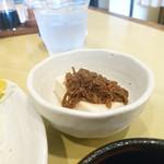 MOBU - 小鉢(肉味噌奴)